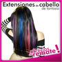 Liquidación De Extensiones Multicolor Quita Y Pon Largo 45cm