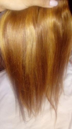 extensiones cabello natural  usadas