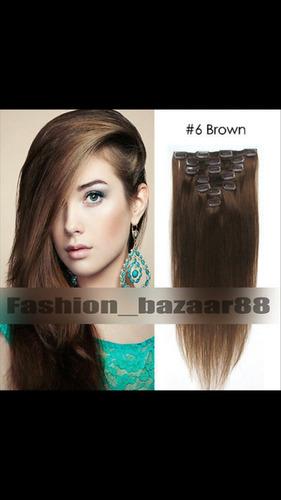 extensiones cabello naturales