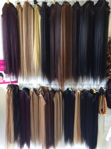 extensiones de cabello bogotá 20 cm ancho x 60 cm planchable