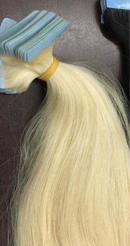 extensiones de cabello decolorado adhesivas 20 unidades bgta