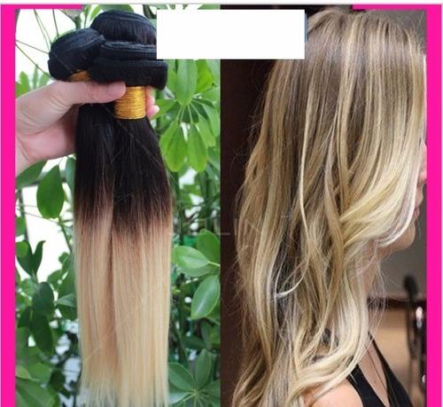 extensiones de cabello natural californianas lacias color 1b
