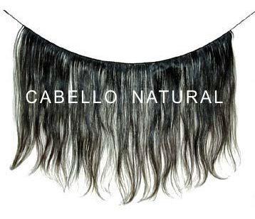 extensiones de cabello natural  pelo 100% de 40-80 cm envios