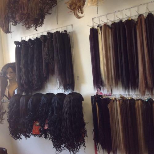 extensiónes de cabello  planchables.tienda bogotá