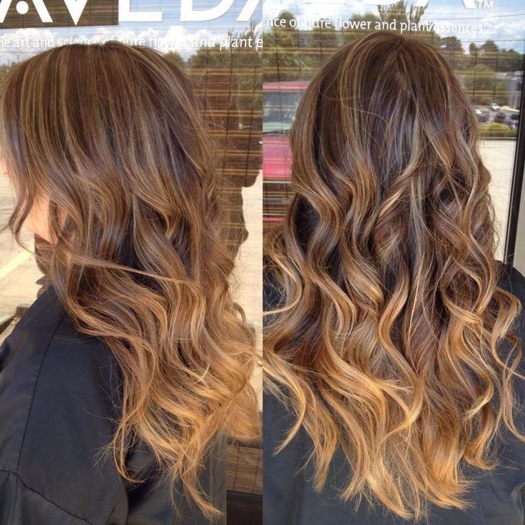 extensiones de cabello rubios, balayage