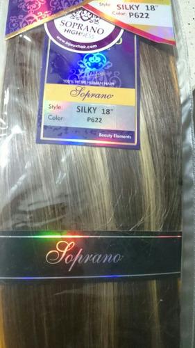 extensiones de cabello soprano 100% naturales