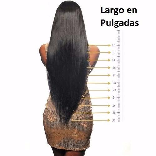 extensiones de pelo virgen 100% humano.
