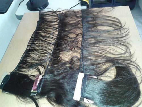 extensiones naturales cabello humano por metro pelo virgen