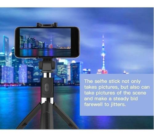 extensível selfie vara monopé tripé controle remoto sem fio
