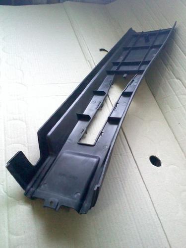 extensão console santana 91 98 preto prolongamento original