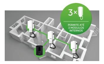 extenso de áudio para porteiro residencial intelbras ipr8000