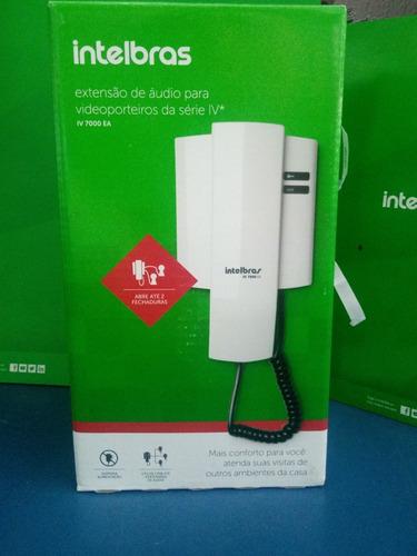 extensão de áudio para vídeo porteiros intelbras da série iv