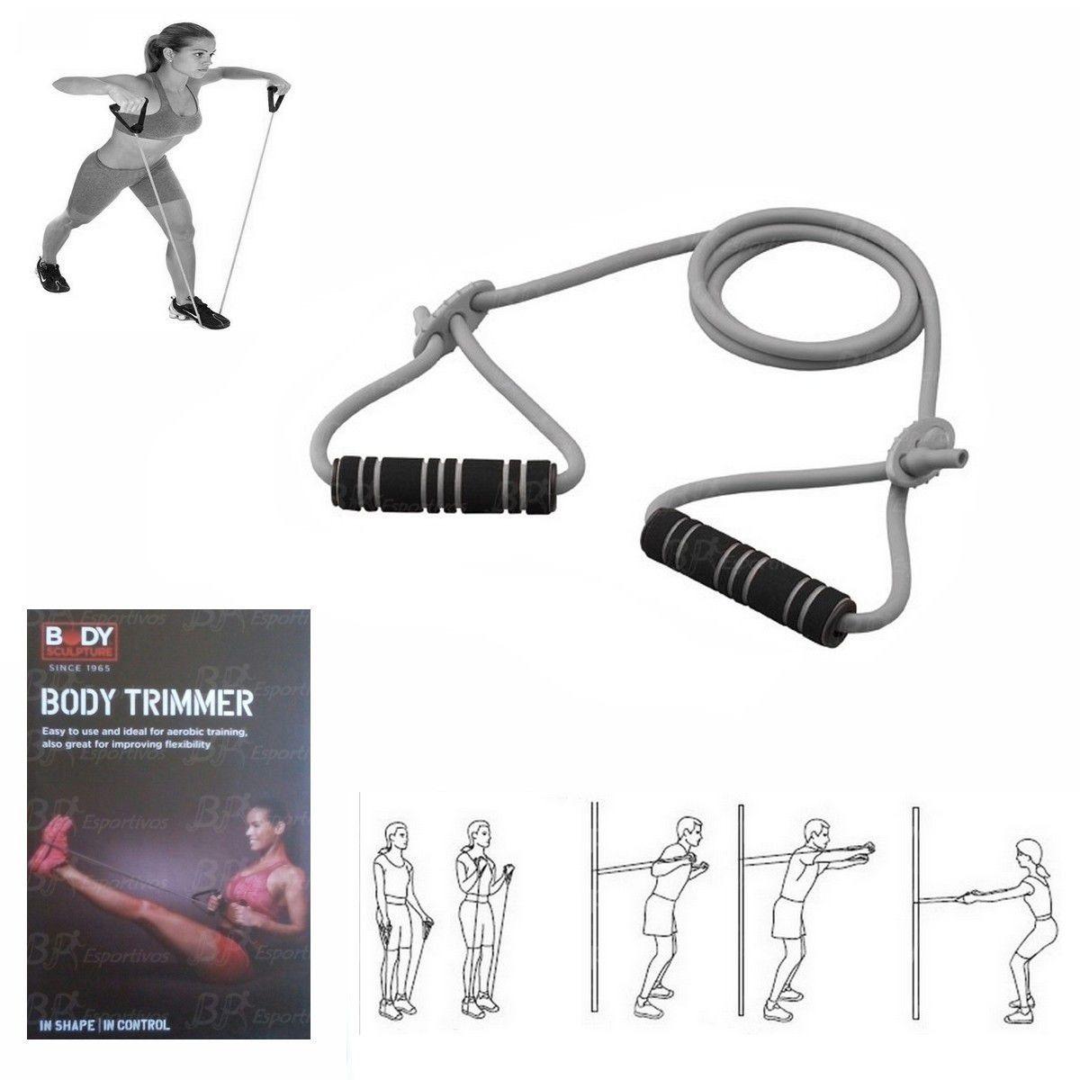 Extensor 1 Via Cinza Elstico Body Trimmer Sculpture R 2290 Skip Rope Em Mercado Livre