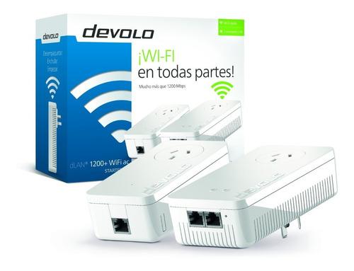extensor amplificador wifi devolo dlan1200+ wifiacplc router