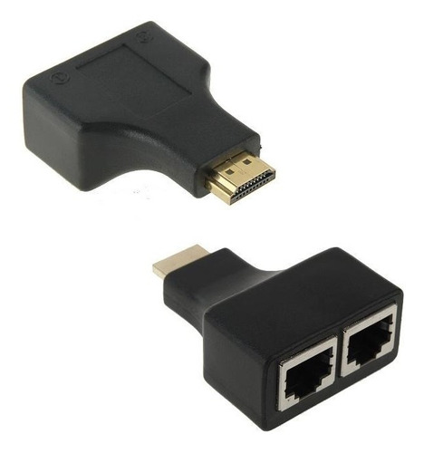 extensor cable hdmi por utp extension hasta 30m 1080p fullhd