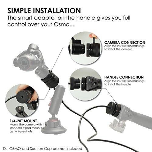 //Osmo Cable de extensión.. Kamerar 80 pulgadas Cable Extensor Para DJI Osmo 2 Metro