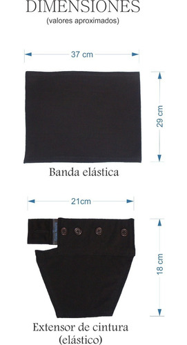 extensor de cintura (kit premium)