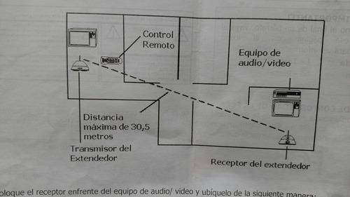 extensor de control remoto radio shack 15-1950 usado