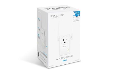 extensor de rango wifi 300mbps 2 antenas tp-link tl-wa860re