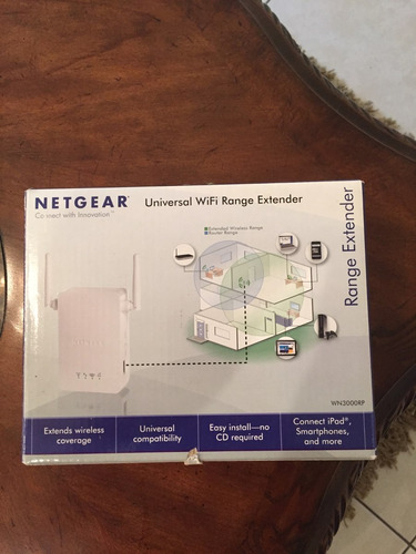 extensor de señal wifi netgear modelo wn3000rp