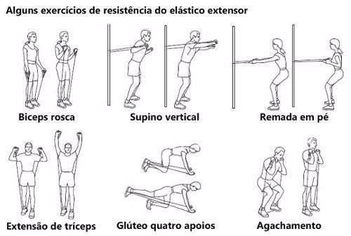 extensor elastico fitness