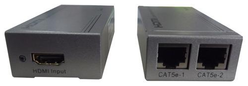 extensor hdmi por utp cat5e/6 a 60 mtrs 4523