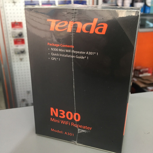 extensor inalámbrico tenda a301 repetidor wifi 300mbp ap