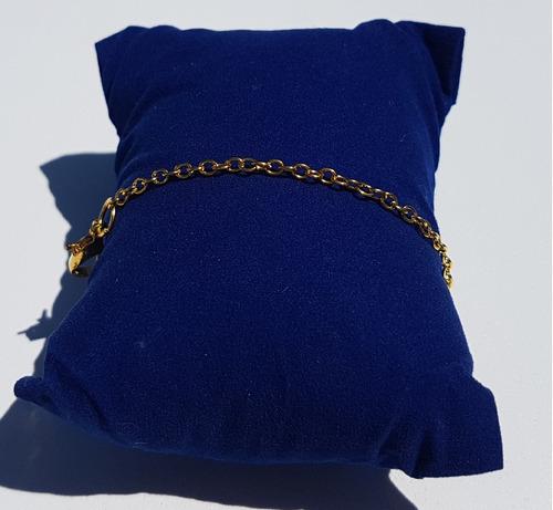 extensor para colar 2mm x8cm banho ouro 18k americano 1040