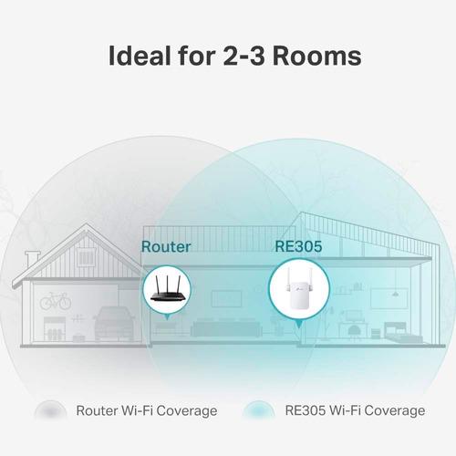 extensor repetidor wifi tp-link re305 ac1200 dual band