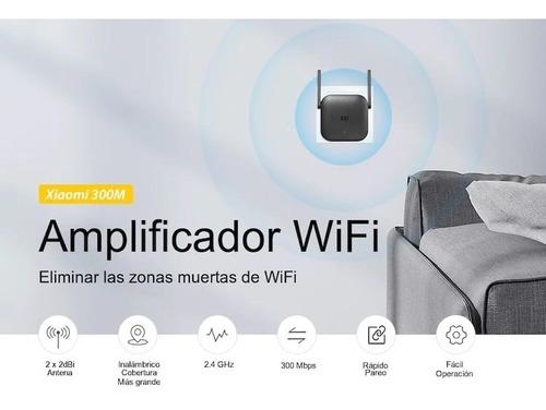 extensor repetidor wifi xiaomi original 2 antenas 300mbs