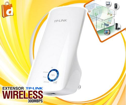 extensor wifi inalámbrico tp-link n 300mbps inc iva