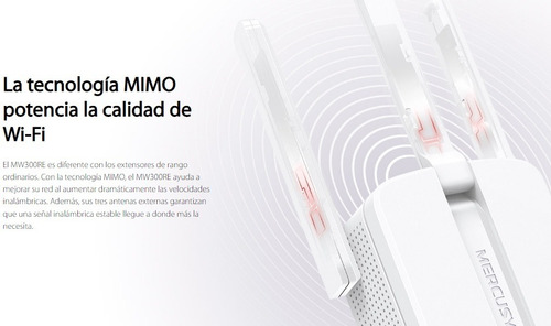 extensor y repetidor wifi 300mbps tres antenas mayor alcance