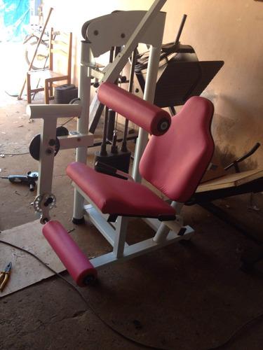 extensora fitness cadeira