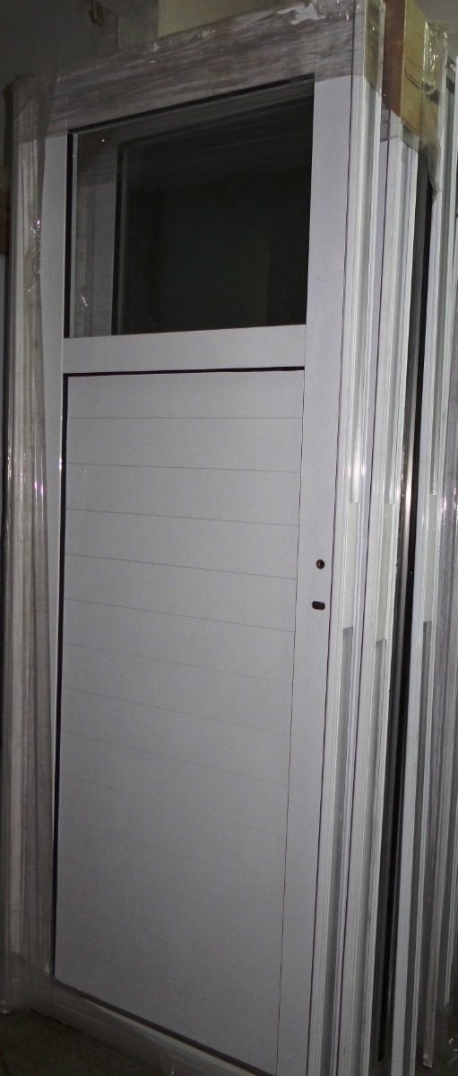 exterior aluminio puerta