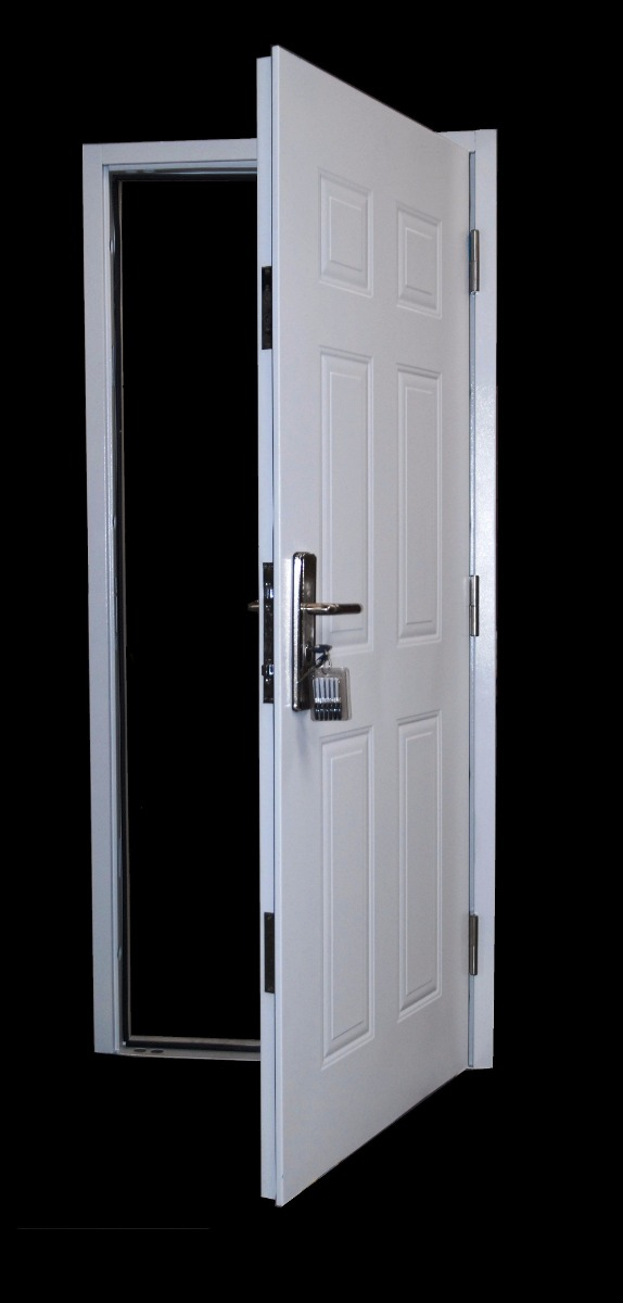 Puerta exterior semi blindadas chapa doble economica en mercado libre - Puertas chapa exterior ...