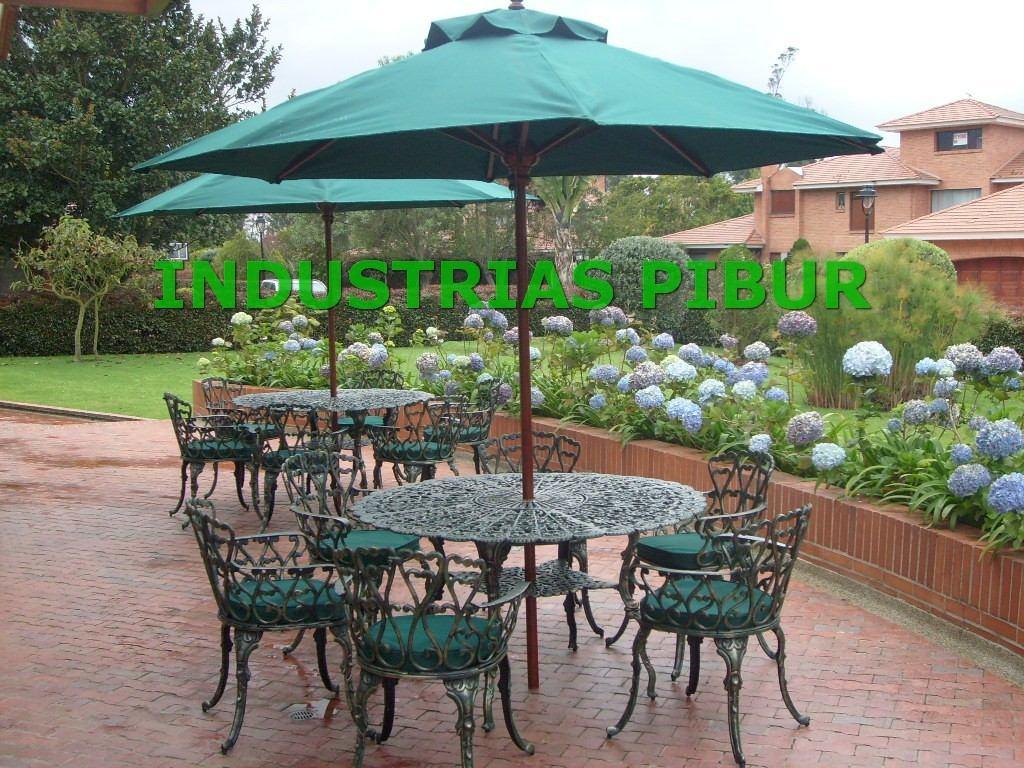 Fabrica muebles para exterior jardin terraza parasoles for Comedores exteriores para terrazas