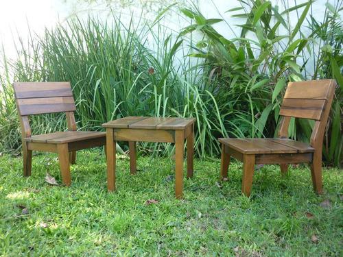 exterior madera muebles