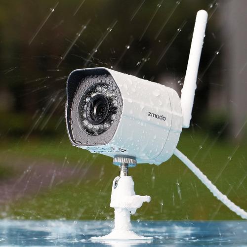 exteriores párr funlux 720p cámaras de seguridad inalámbrico