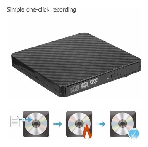 external dvd drive portátil usb 3,0 cd/dvd +/-rw vcd rom