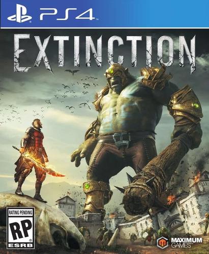 extinction ps4 físico original sellado envío grátis.