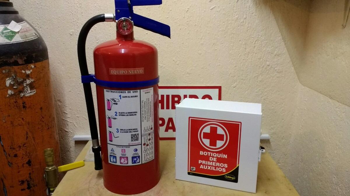 Extintor pqs certificado y botiqu n equipado garant a en mercado libre - Extintor para casa ...