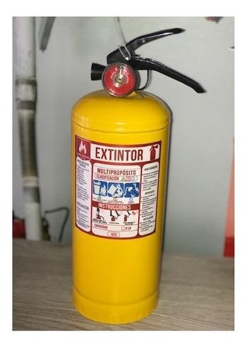 extintor abc 5libras para automovil