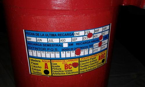 extintor de co2 de 20lbs