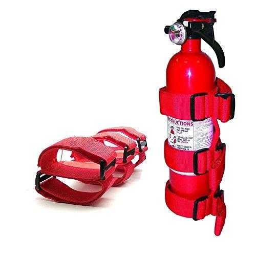 extintor de fuego ajustable barra de rollo de lienzo montado