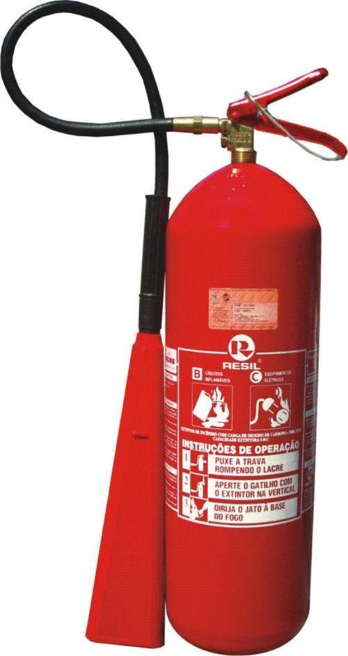 Extintor De Incendio Co2 6 Kg Novo 12 X S juros + N.f +supor - R ... 6506745a51