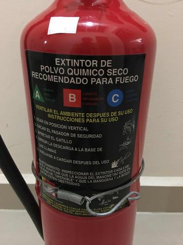 extintor de incendió de 10 lbs
