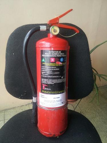 extintor de incendios