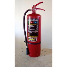 Extintor De Incendios De Pqs Tipo Abc De 10 Libras.