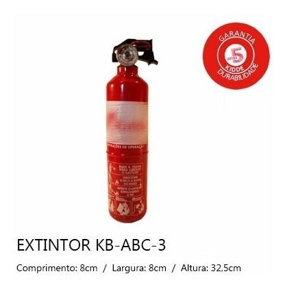 extintor de incêndio abc (1 quilo) cada