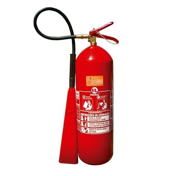 Extintor De Incêndio Co2 Gás Carbônico 6 Kgs C  Suporte - R  319,90 ... af36c2c7b3